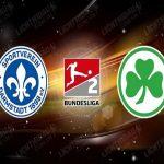 Dự đoán Darmstadt vs Greuther Furth 23h30, 29/5 (Hạng 2 Đức)