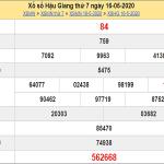 Tổng hợp KQXSHG- Thống kê xổ số hậu giang thứ 7 ngày 23/05