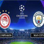 Dự đoán Olympiakos vs Man City – 00h55, 26/11/2020