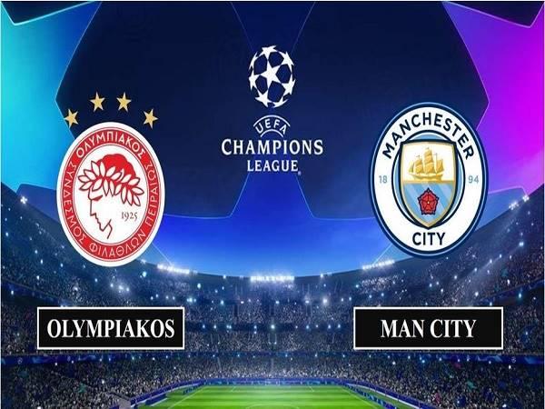 Dự đoán Olympiakos vs Man City - 00h55, 26/11/2020