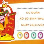 Dự đoán kết quả XS Bình Thuận Vip ngày 26/11/2020