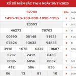 Dự đoán XSMB ngày 21/11/2020 – Chốt số miền Bắc ngày hôm nay thứ 7