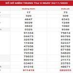 SXMT ngày 1/12/2020 – Chốt số dự đoán kết quả XSMT thứ 3