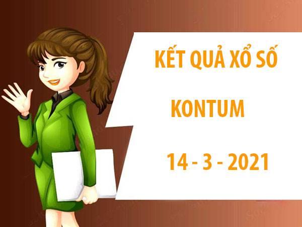 Soi cầu KQXS Kon Tum chủ nhật ngày 14/3/2021
