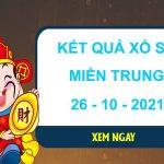 Soi cầu dự đoán XSMT ngày 26/10/2021 thứ 3 hôm nay